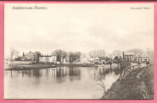 Halliford-on-Thames, Middlesex postcard. Newman's Series.