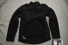 Hot Chillys Youth Pico Fleece Zip-T Jacket - Kids Unisex Size S - Black