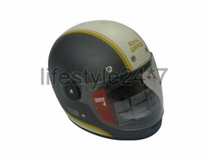 Genuine Royal Enfield Grey & White Helmet