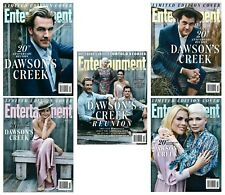 2018 Entertainment Weekly Dawson's Creek 20th Anniversary Reunion 5 Cover Set!