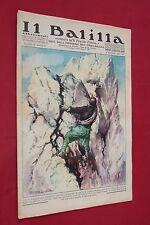 rivista a fumetti IL BALILLA Supplemento Popolo d'Italia ANNO XV N.18 (1937)