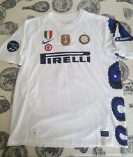 maglia shirt INTER 2010/2011 AWAY nike camiseta TRIPLETE champions world mondial