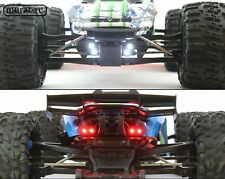 LED Lights Front And Rear Traxxas E-REVO 2.0 VXL 1/10 waterproof by murat-rc
