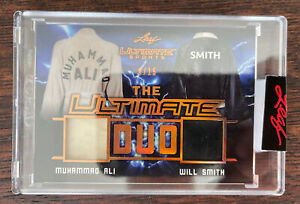 2021 Leaf Ultimate Sports Muhammad Ali Will Smith Fight Used Relics SP 9/15 💎💎