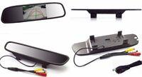 """LCD 4.3"""" a colori,specchio retrovisore per auto.Monitor specchietto retromarcia"""