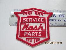 """Nash 40's - 50's Service Parts hat, jacket, shop coat patch 3 1/4"""" x 3"""""""
