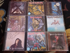 IRON MAIDEN 9 CD Collection Lot: FEAR OF THE DARK 2CD BONUS SET Number of Beast+
