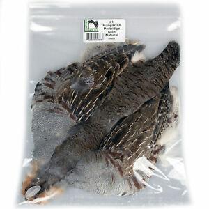 Hareline Natural Undyed Hungarian Partridge Skin Soft Hackle