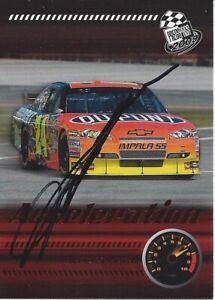 AUTOGRAPHED Jeff Gordon 2009 Press Pass ACCELERATION #24 Signed NASCAR Card COA