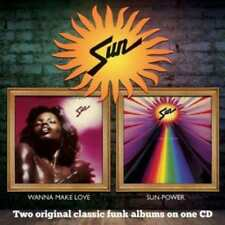 Sun - Wanna Make Love - Sun-Power (NEW CD)
