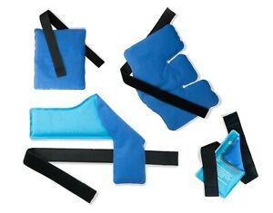 Battle Creek Stay Put Dual Comfort Hot & Cold Therapy Wraps | Authentic | Heat