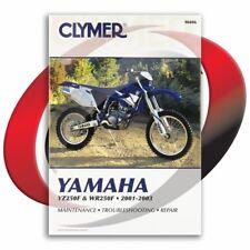 2001-2003 Yamaha YZ250F Repair Manual Clymer M406 Service Shop Garage