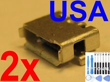 2x Lot of Micro USB Charging Port Sync for BlackBerry PlayBook RDJ21WW Tablet
