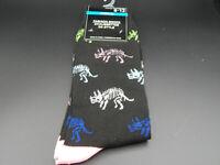 Mens Novely Socks size 6-12-Dino