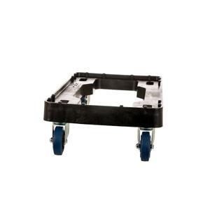 Plastic Container Universal Trolley EnviroSkate Brake Castors Crate Dolly Skate