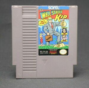 Wall Street Kid NES Game Cartridge (Nintendo Entertainment System, 1990)