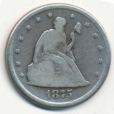 United States - 20 Cents 1875. (USC017)