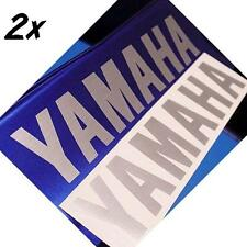 Yamaha BRUSH ALUMINUM 8in 20.3cm decals stickers R3 Stryker zuma FZ1 FZ8 Fazer