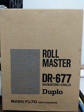 Genuine Duplo Roll Master, Slightly Used