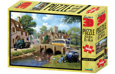 Kevin Walsh Super 3D Puzzle Down By The River Jigsaw Puzzle - 500 Pieces