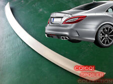 Painted M-BENZ 12~16 W218 CLS class AMG type trunk spoiler color:744 Silver @US