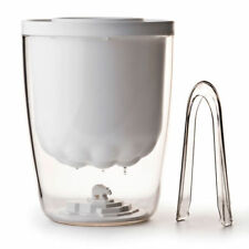 QUALY Polar Ice Bucket Eiswürfel Behälter mit Zange NEU/OVP Eisbär Bär Eiskübel