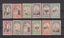 Maroc Espagnol Timbres télégraphe de TANGER Edifil 23/34 N**(MNH) 2 Séries RARE