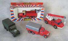 4  Vintage Solido 3102 Gru Richier Toner Gam II France Tow Truck Construction