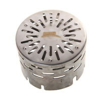 Tragbar Mini Heater Cap für Butan Gasherd Brenner - Flamme Kappe - Edelstahl