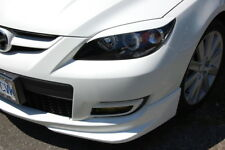 Eyelids eyebrows FRONT headlight light brows ABS for MAZDA 3 HATCHBACK & AXELA