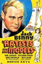 Artists and Models 1937 01 Film A3 Box Canvas