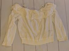 H&M White Shirt Size 14 Youth Nwt