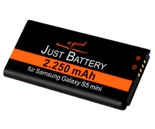 original JuBaTec Akku für Samsung Galaxy S5 mini SM-g800F mit 2250 mAh EBBG800BB