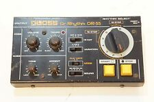 BOSS Dr-55 Dr. Rhythm Vintage Analog Drum Machine Roland AS-IS