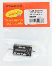 Slot it Flat-6 RS 25,000rpm 15W All Values Upgraded 1/32 Slot Car Motor MN14H
