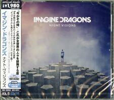 IMAGINE DRAGONS-NIGHT VISIONS-JAPAN CD BONUS TRACK D95