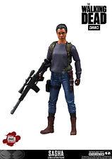 """Walking Dead TV Series Sasha 5"""" Exclusive Action Figure McFarlane IN STOCK"""