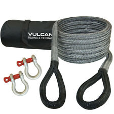 """Vulcan Kinetic Recovery Rope Tow Rope 3/4"""" x 20' 19K Pounds"""