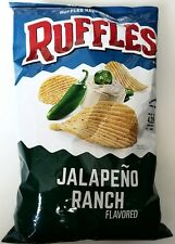 NEW Ruffles Jalapeno Ranch Flavored Chips Snack 2017 FREE WORLDWIDE SHIPPING