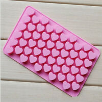 3D Heart Shape Silicon Mold Cake Chocolate Candy Cookie Mould DIY Baking Tool