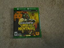 RED DEAD REDEMPTION UNDEAD NIGHTMARE...**XBOX ONE**XBOX 360**SEALED**NEW**!!!!!