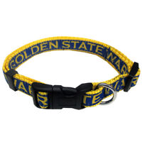 Golden State Warriors Officially Licensed Pets First NBA Nylon Dog Collar