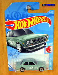 Hot Wheels '71 Datsun 510 Coupe [J-Imports] 2021 - New/Sealed/XHTF [E-808]