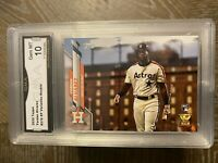 🔥YORDAN ALVAREZ TOPPS #276 SP VARIATION RC GMA 💎 GEM MINT 10 INVEST PSA 10? 📈