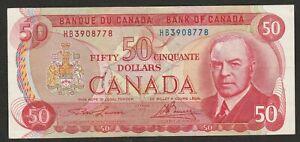 1975 CANADA 50 DOLLAR NOTE