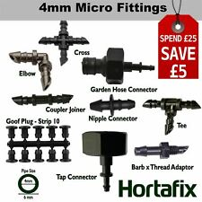More details for garden watering micro irrigation barbed fittings antelco hozelock compatible