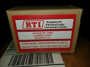 12 rolls of RTI cleaning tissue for TC4100 VT3100 TC-490 480 TC-470 460 Cleaners