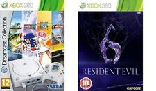 dreamcast collection & resident evil  6    (Xbox 360)  PAL NEW&SEALED