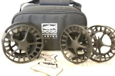 Lamson Liquid Size 4 3-Pack Reel and 2 Spools Made in USA Free Fast Shipping