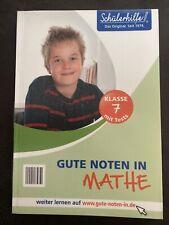 Schülerhilfe Gute Noten in Mathe 7. Klasse Nachhilfe Aufgabenbuch mit Lösungen
